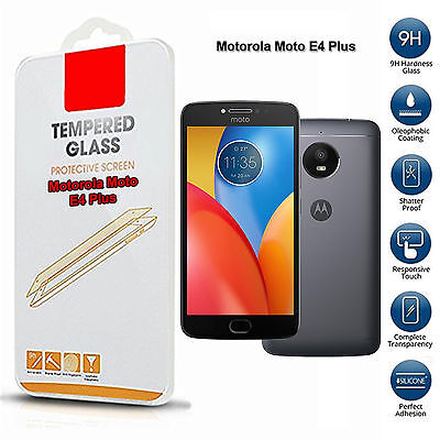 Tempered Glass Screen Protector For Motorola E4 Plus