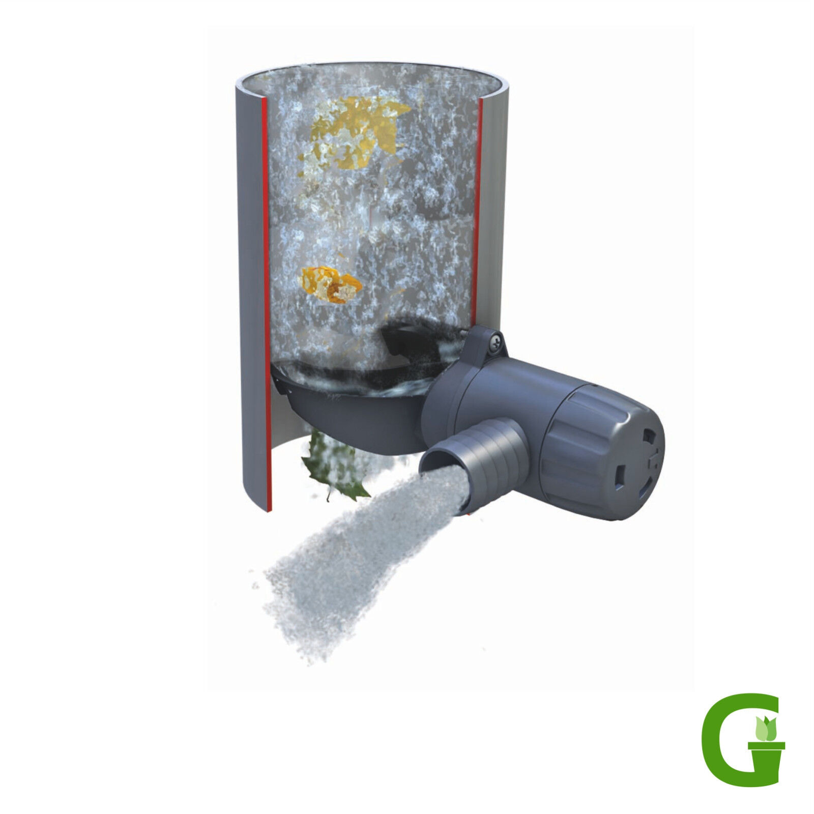 Graf Garantia Rapido Regensammler Füllautomat - Installiert in 5 Minuten!