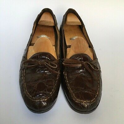 Polo Ralph Lauren Alligator Crocodile Loafers Shoes - Size 10.5