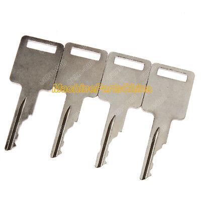 4 Ignition Key For Bobcat 751 753 763 773 863 873 883 963 Skid Steer 4 Cut Keys