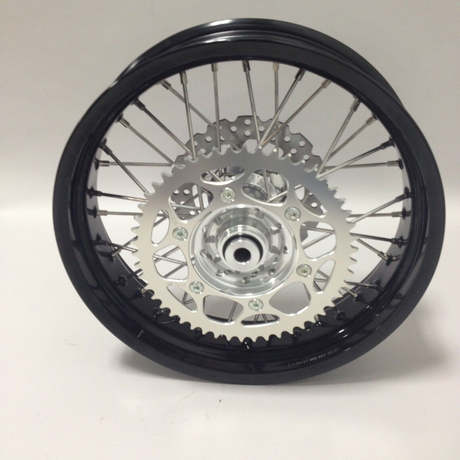Warp 9 Racing Wheel Assembly, Rear SM, 4.25