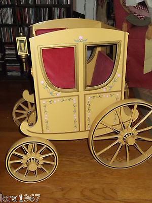 AMERICAN GIRL COACH CARRIAGE FELICITY SAMANTHA 2  LOCAL PICK UP ONLY