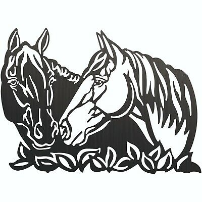 Running Horses Dxf Cnc Sign For Plasma Laser Waterjet Router Plotter Cut Vector
