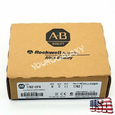 Allen-Bradley MicroLogix 4 CH ANALOG OUTPUT Module CAT 1762-OF4 SER B ()