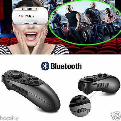 VR BOX Practical Reality 3D Glasses Games Bluetooth【Remote Control】For Smartphone