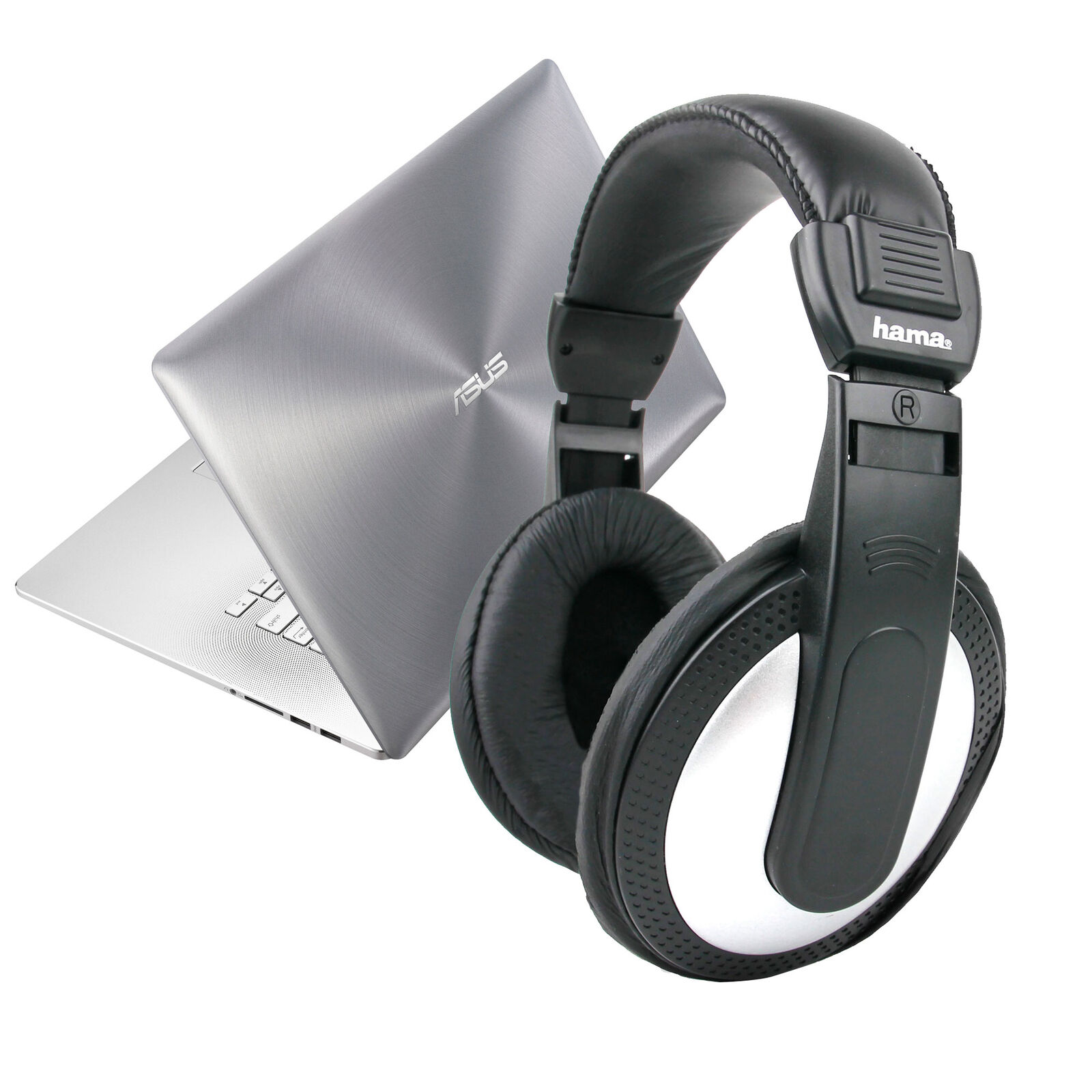 Stereo Over-ear Headphones For Asus Transformer Book Trio & Vivotab Note 8