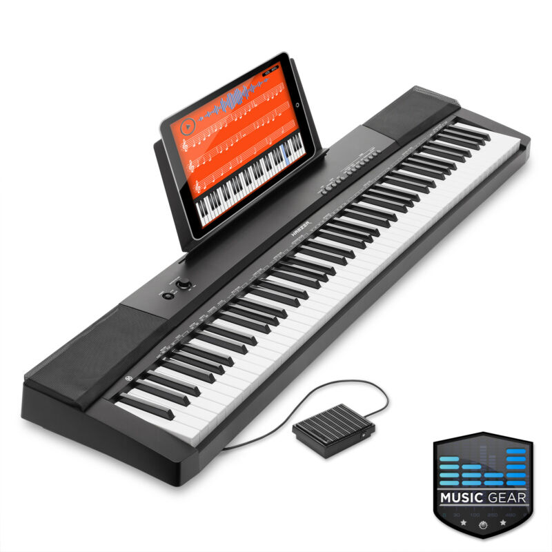 88-Key Electronic Keyboard Portable Digital Music Piano