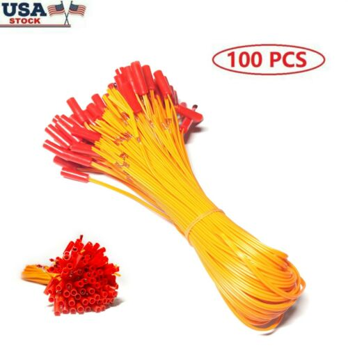100 pcs 19.68in Electric Wire Match Igniter for Fireworks Remote Control System