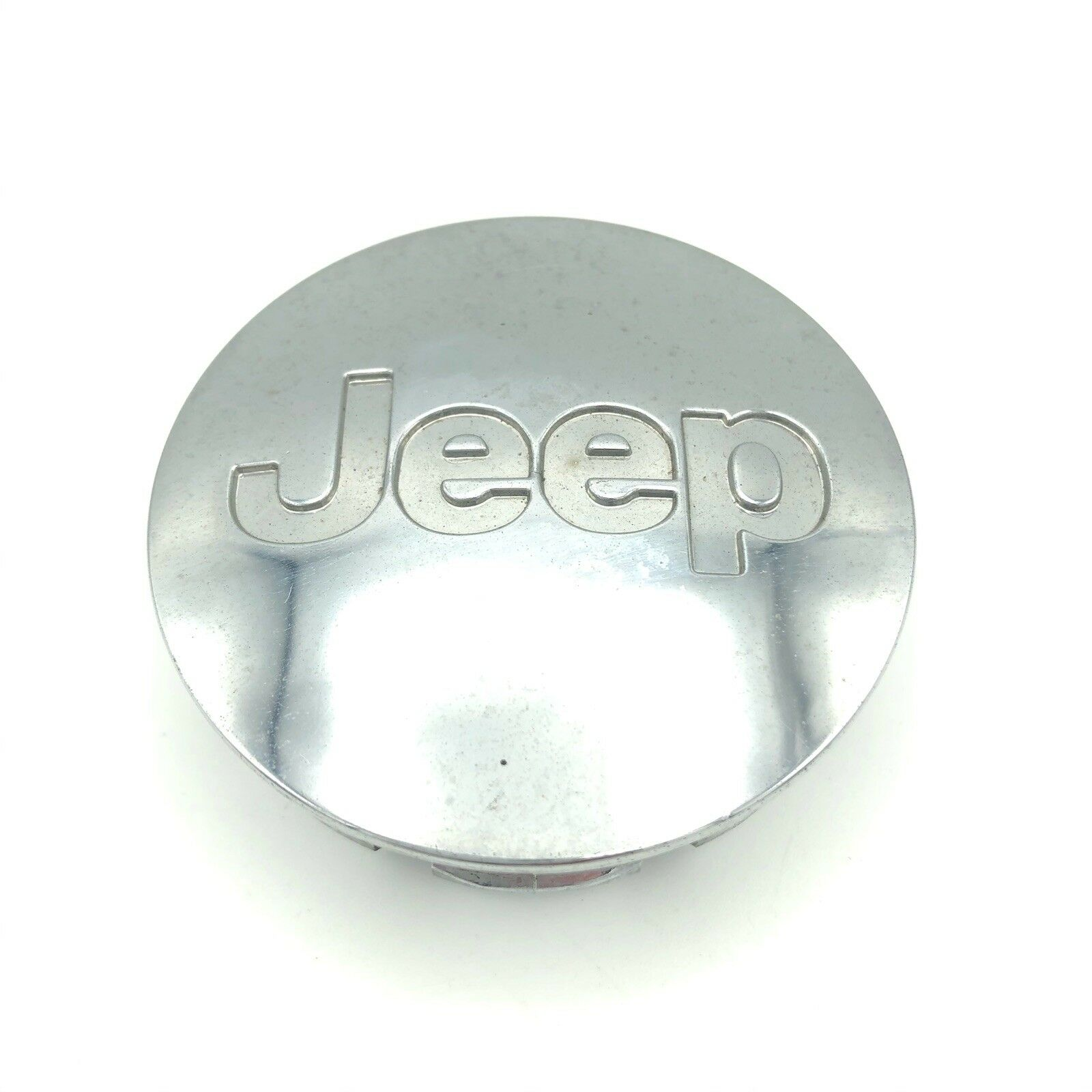 Jeep Center Cap 2-1/8 OEM Chrome Commander Compass Cherokee Liberty Wrangler