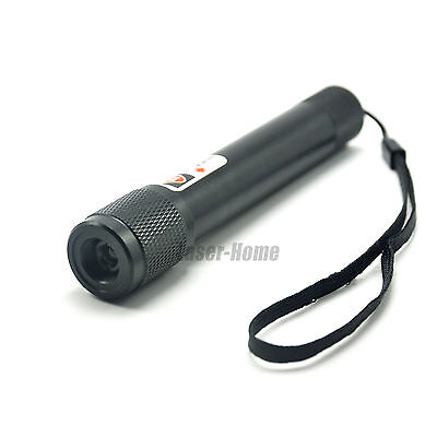 Powerful 808nm Focusable Ir Infrared Laser Pointer Torch 808t-200-1x14500-bl