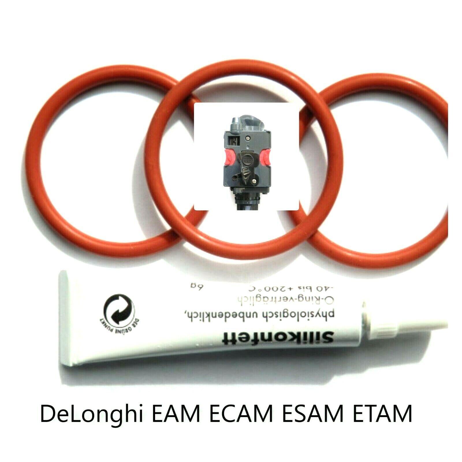 Delonghi ESAM-ETAM Dichtungen Dichtsatz O-Ringe für oberen Brühkolben