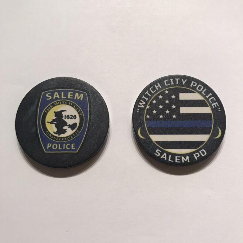 Salem Massachusetts Police Dept Ceramic Challenge Coin