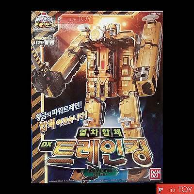 Power Rangers ToQger DX ToQ-Oh ToQoh Limited Edition Gold Ver. Bandai Korea 2016