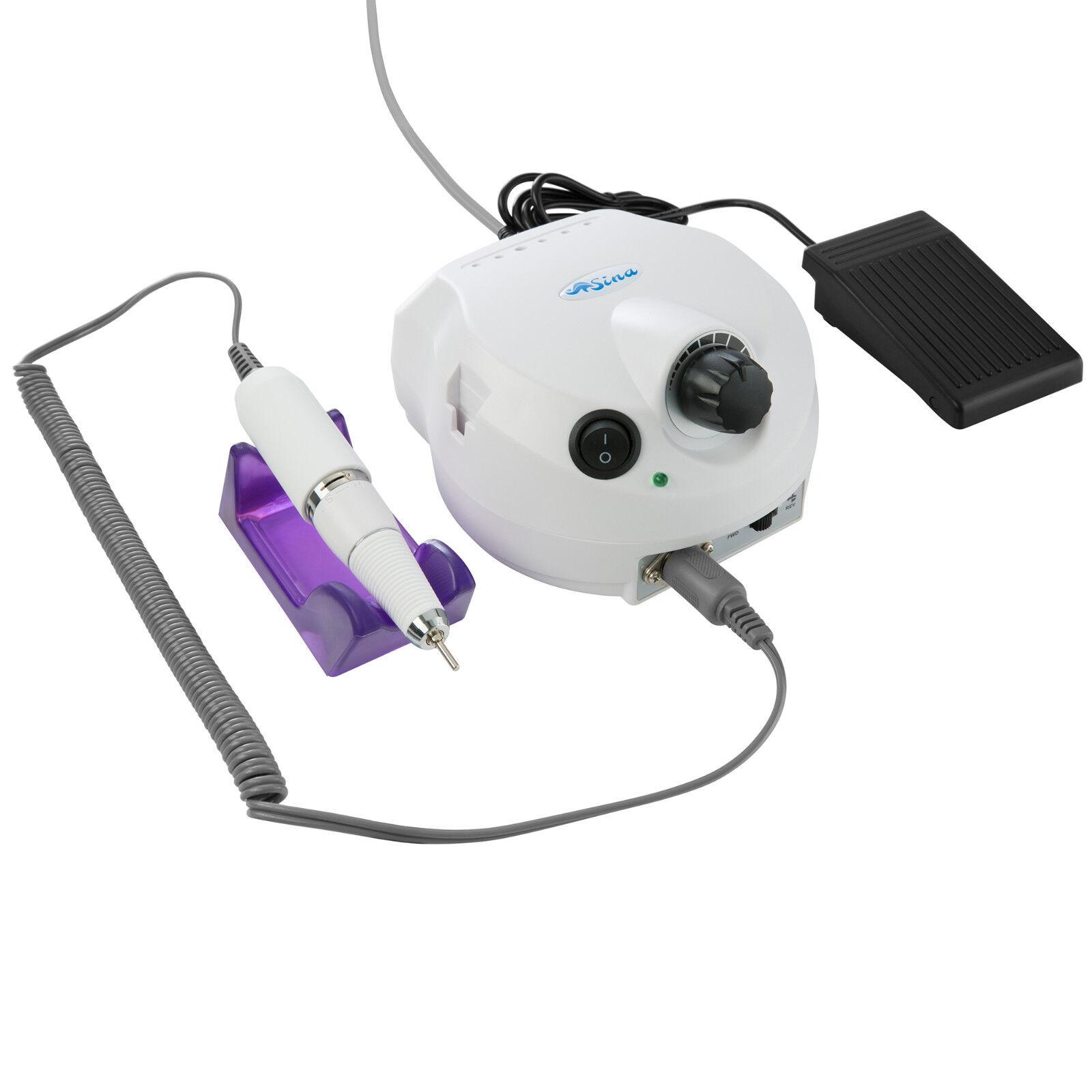 Nagelfräser Set Nagelstudio für Pediküre und Maniküre elektrische Nagelfeile