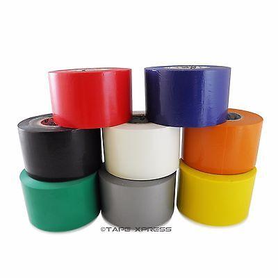 8 Rolls Rainbow Vinyl Pvc Electrical Tape 2 X 66 Flame Retardant Free Shipping