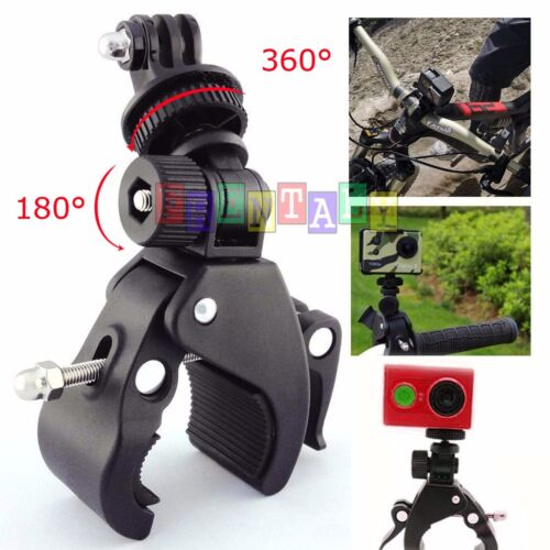 Bicycle Bike Motorcycle Handlebar Mount Holder Clamp For Gopro Hero 5 4 3+ 3 2 1