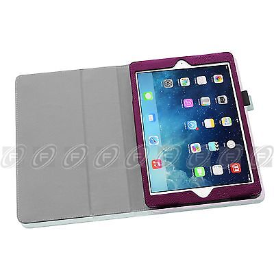 Folio Stand Smart Magnetic Leather Case Cover For New Apple iPad Air 2013 Model