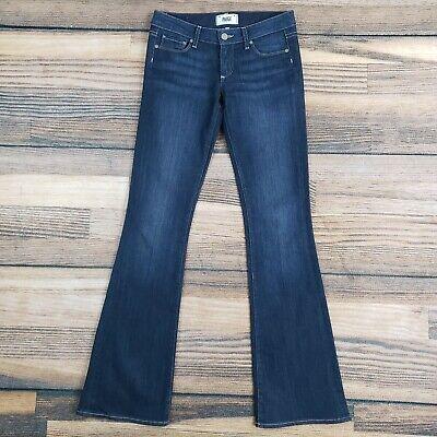 Paige women's 25 (measure 28x34) blue jeans Skyline Boot Walker wash low rise