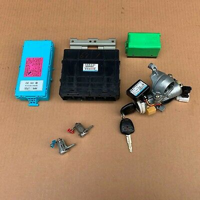Mitsubishi Lancer CS Ignition Barrel 2 Keys Door Locks ECU Transponder 04 05 06