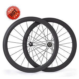 700C-50mm-clincher-23mm-wider-carbon-fiber-road-racing-bicycle-bike-wheel-set