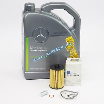 Original Mercedes Servicekit Ölfilter Inspektion Öl A-Klasse W169 B-Klasse W245
