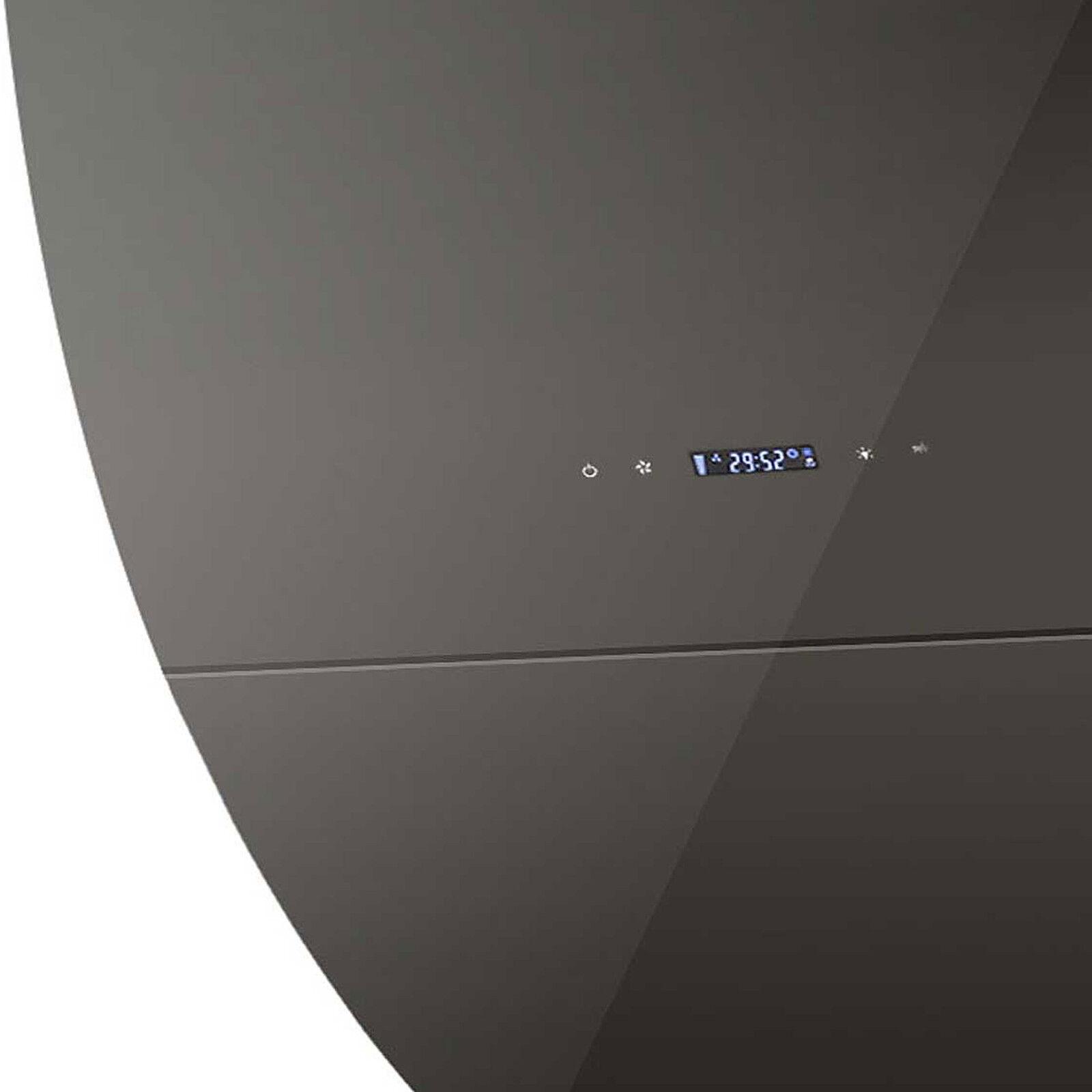 dunstabzugshaube abzugshaube glashaube wandhaube kopffreihaube 90 cm schwarz eur 229 90. Black Bedroom Furniture Sets. Home Design Ideas