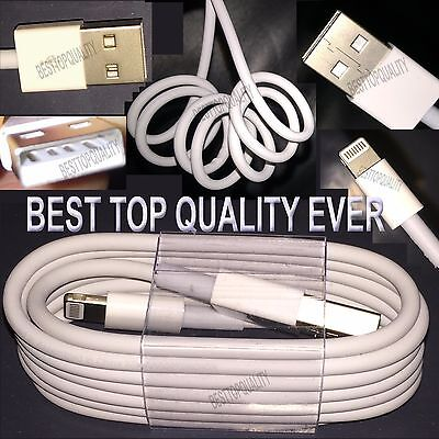10 X USB Charger Sync Data Cable for iPhone 5 6 8 7  PLUS Wholesale BEST