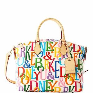 Dooney-Bourke-DB-Retro-Satchel-White