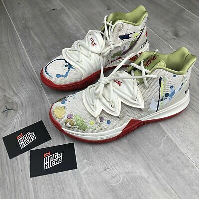 NIKE KYRIE 5 BANDULU EP PALE IVORY WHITE UK 9 EUR 44 US 10 NEW CK5837 100
