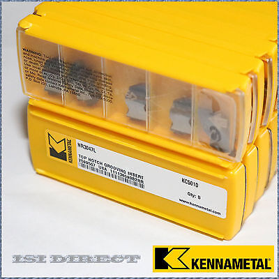 Nr3047l Kc5010 Kennametal 10 Inserts Factory Pack
