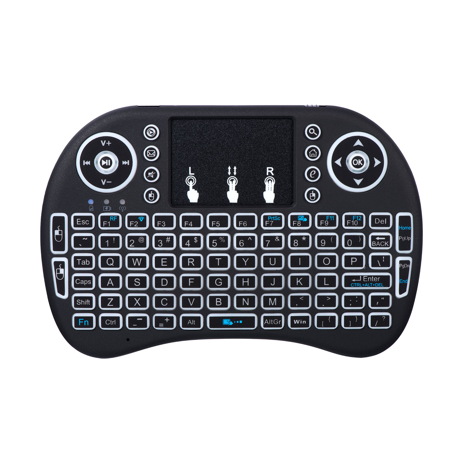 2.4Ghz Bluetooth Wireless Keyboard Remote for Raspberry Smart TV Kodi Android Computers/Tablets & Networking