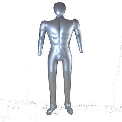 Inflatable Mannequin Torso Underwear Display Pvc Female Full Body 1028hook