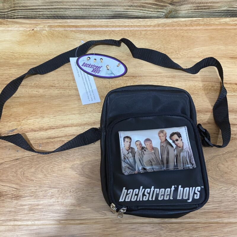 Vintage Backstreet Boys CD Shoulder Bag Purse Holder Wallet New 2000 Winterland