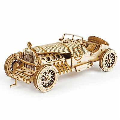 Robotime 3d Holz Puzzle Modellbausatz Holzfahrzeug Auto Kinder Spielzeug