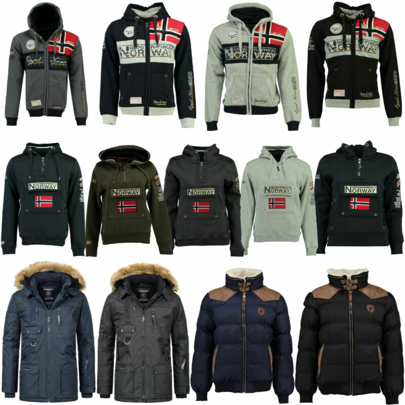 Geographical Norway Herren Jacke Winter Herbst S bis 3XL Sweatshirt