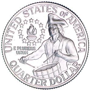 1976 S Washington 40% Silver Quarter Gem Cameo Proof Bicentennial US Coin