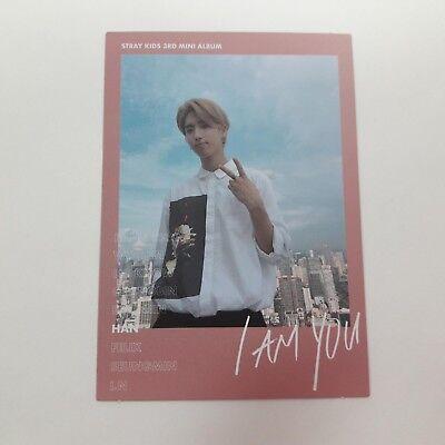 Stray Kids 3rd Mini I AM YOU Official Original HAN photocard 1p K-POP Idol QR
