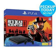 Sony PS4 500GB Console & Red Dead Redemption 2 Bundle