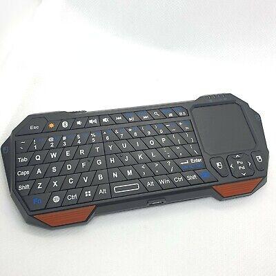 Fosmon 23022KB Portable Wireless Mini Bluetooth Keyboard Black/Orange