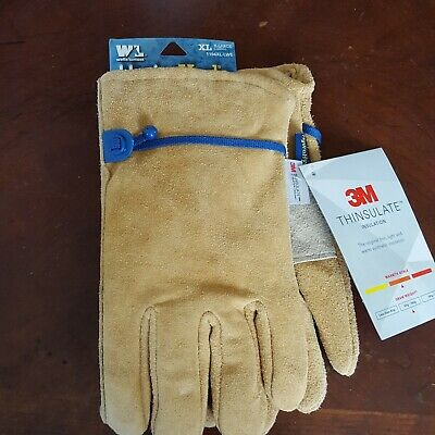 Wells Lamont Leather Hydra Hyde 3m Thinsulate Insulated Gloves X Large 1194xl