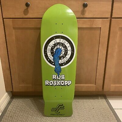 Santa Cruz Skateboard Deck 80's Rob Roskopp Early Reissue Target 1 Monster One