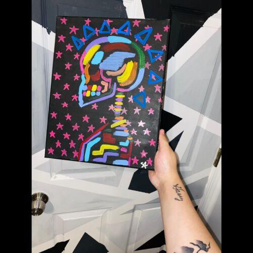 Punk Rock Skull - $45.00