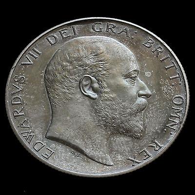 1902 Edward VII Silver Matt Proof Half Crown