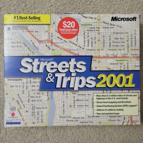 Microsoft Street and Trips 2001