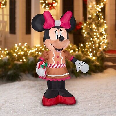 Disney 5 Foot MINNIE MOUSE Christmas Holiday Airblown Inflatable NEW 2020 Gemmy