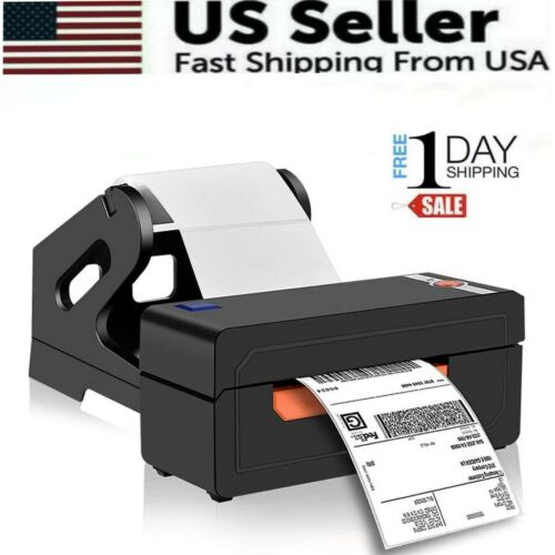 Shipping Label Printer 4x6 Thermal  Label Marker Writer Machine  with holder