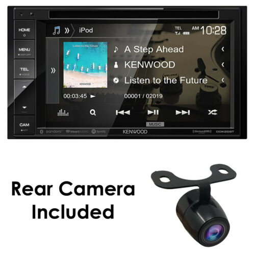 """KENWOOD DDX26BT 6.2"""" DOUBLE DIN TOUCHSCREEN CAR STEREO DVD BLUETOOTH STEREO+ cam"""