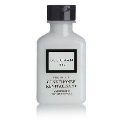 Beekman 1802 Fresh Air Conditioner 1oz flip cap bottle-case of 160-Travel size (Air Conditioner Cap)