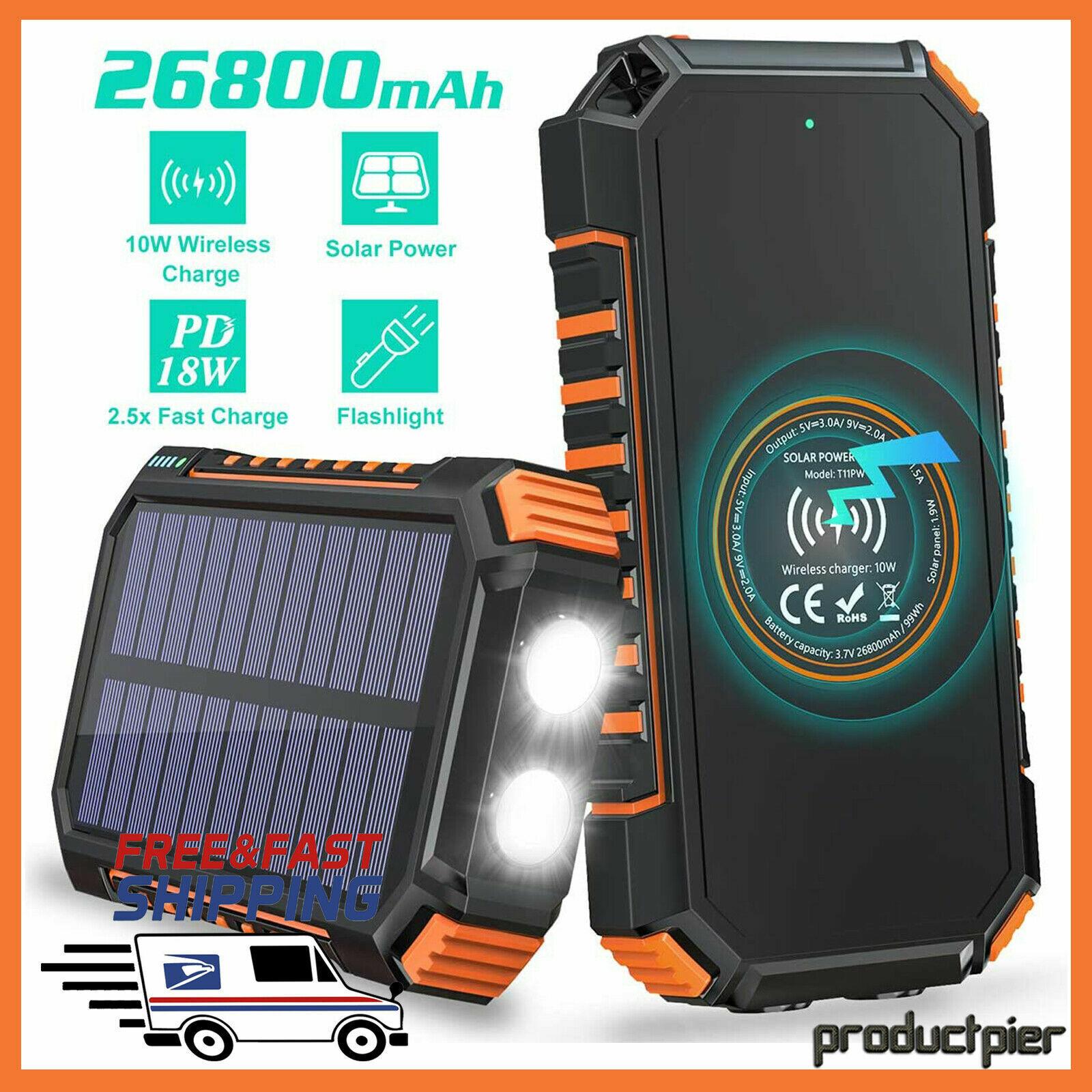 RAVPower Xtreme 26800mAh External Battery Charger Power Bank