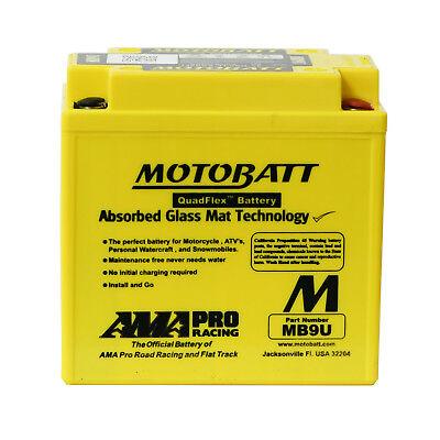 MOTOBATT MB9U GEL MOTORCYCLE BATTERY FOR TRIUMPH TIGER 800 11 14